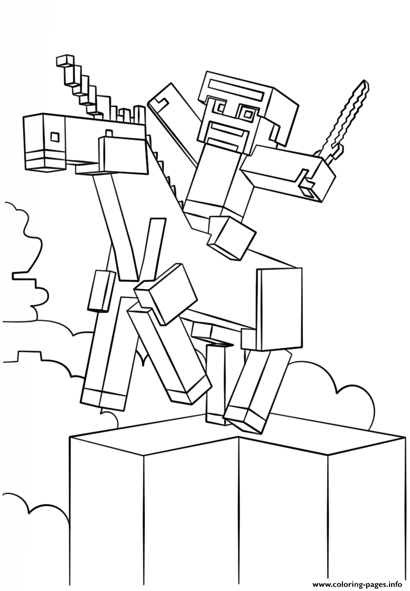 mine craft coloring pages minecraft unicorn coloring pages printable pages craft mine coloring