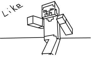 minecraft cartoon steve free minecraft steve coloring pages download and print steve cartoon minecraft