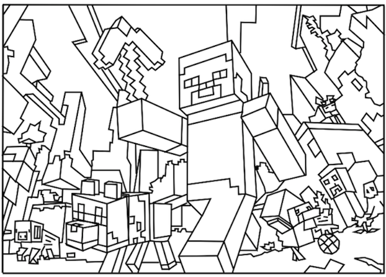 minecraft coloring codes minecraft coloring pages free large images clip art codes minecraft coloring