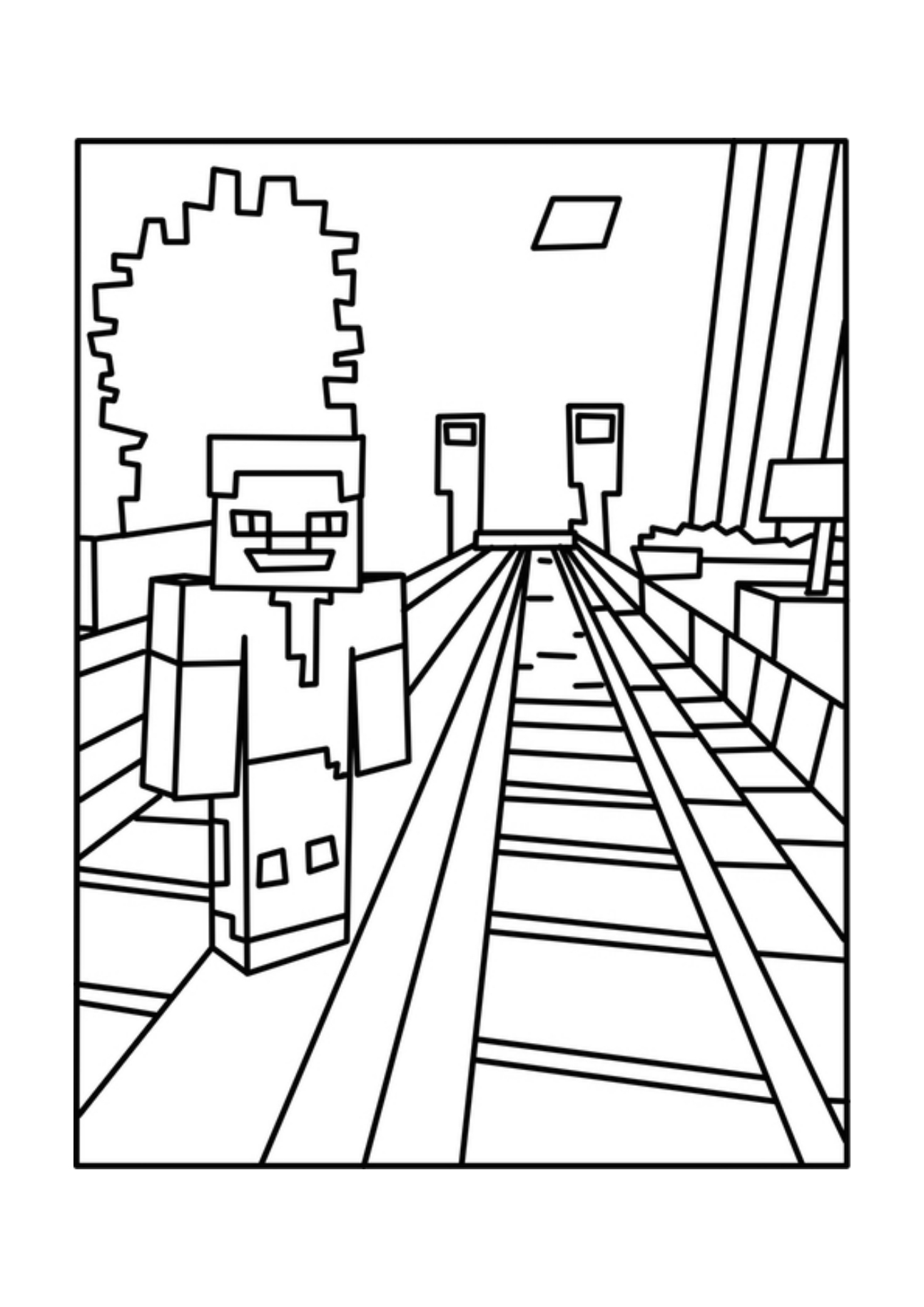 minecraft coloring minecraft coloring pages best coloring pages for kids minecraft coloring 1 1