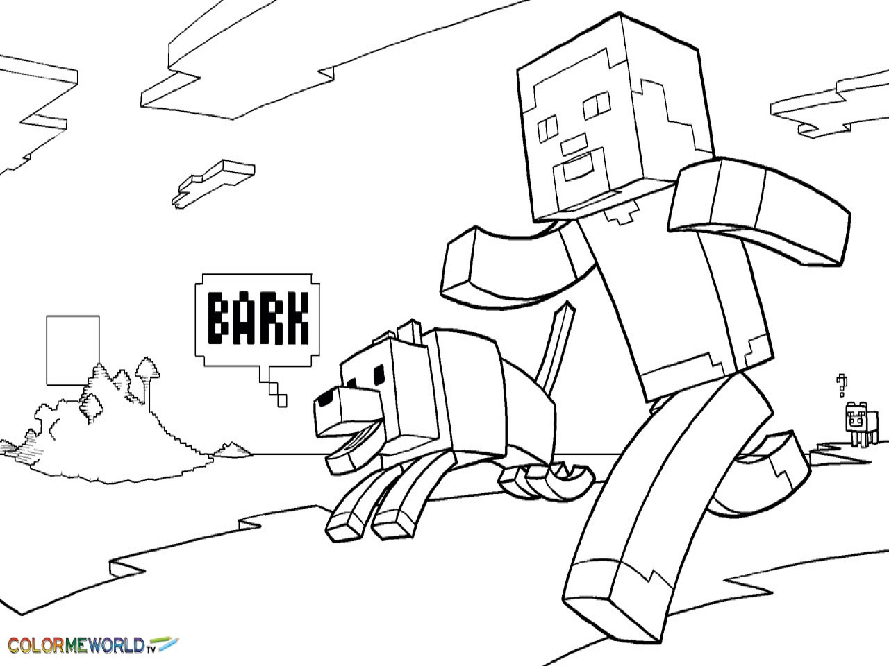 minecraft dog coloring pages 13 pics of minecraft dog coloring pages printable dog minecraft pages coloring