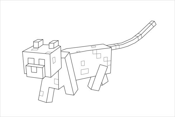 minecraft dog coloring pages 13 pics of minecraft dog coloring pages printable minecraft dog coloring pages