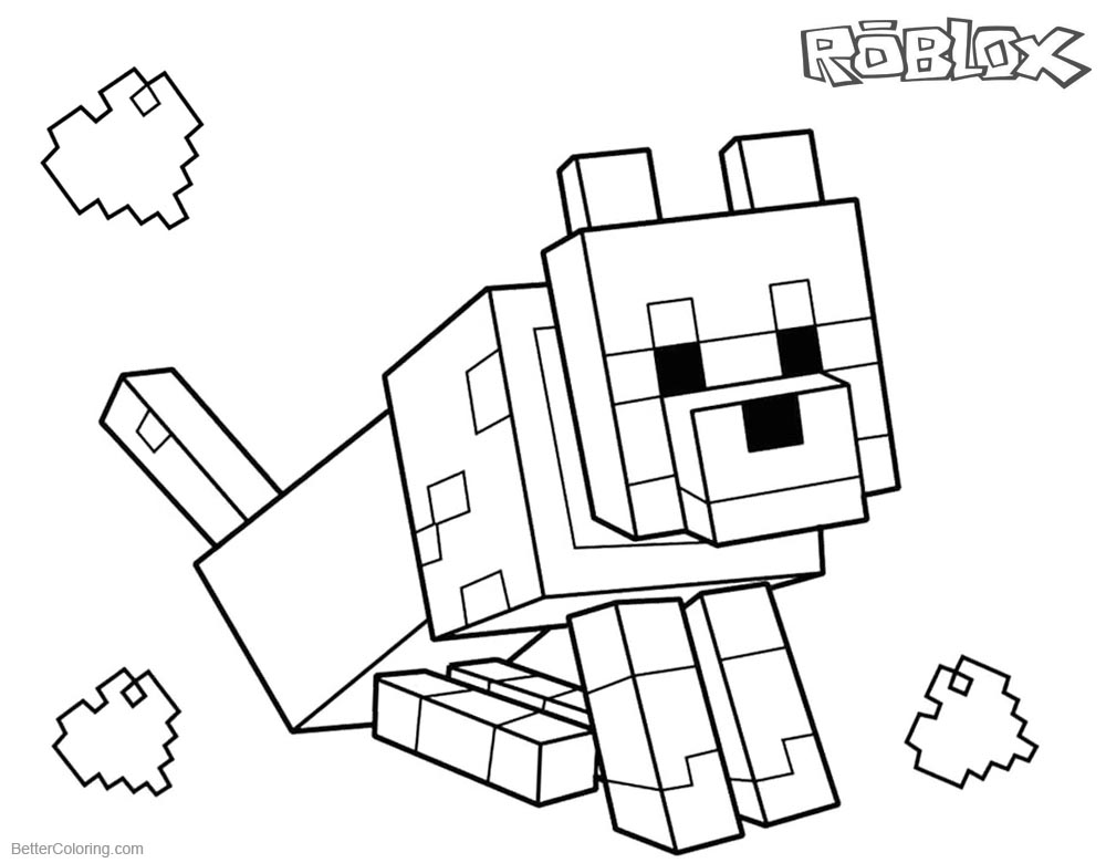 minecraft dog coloring pages 9 dog coloring pages free premium templates coloring dog pages minecraft