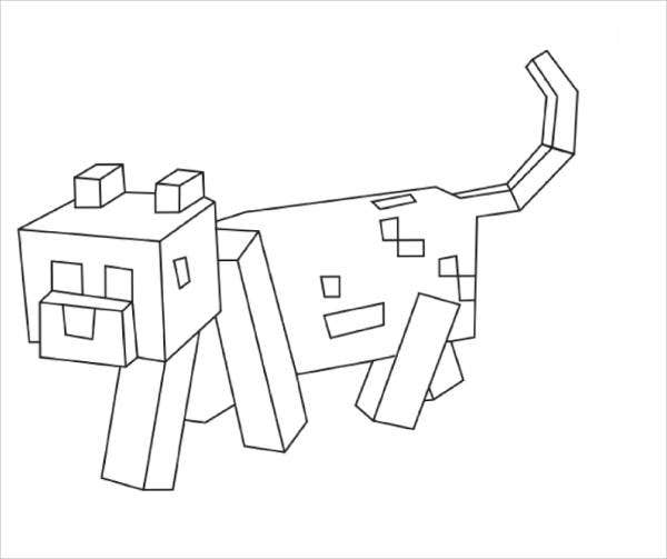 minecraft dog coloring pages dog and hearts minecraft coloring page topcoloringpagesnet pages minecraft dog coloring