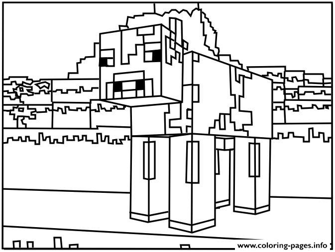 minecraft dog coloring pages minecraft steve boyaması salsa dog pages minecraft coloring