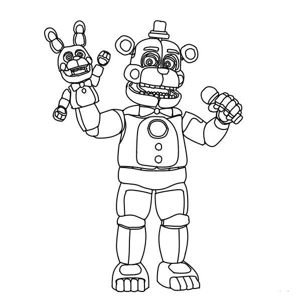 minecraft fnaf coloring pages five nights at freddys coloring pages awesome coloring pages coloring minecraft fnaf