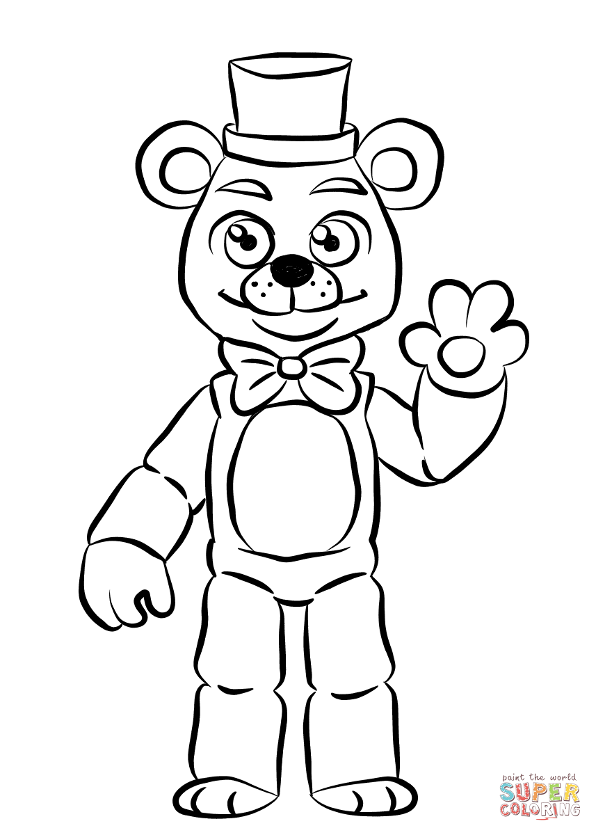 minecraft fnaf coloring pages five nights at freddys fnaf bonnie foxy mangle coloring coloring minecraft fnaf pages