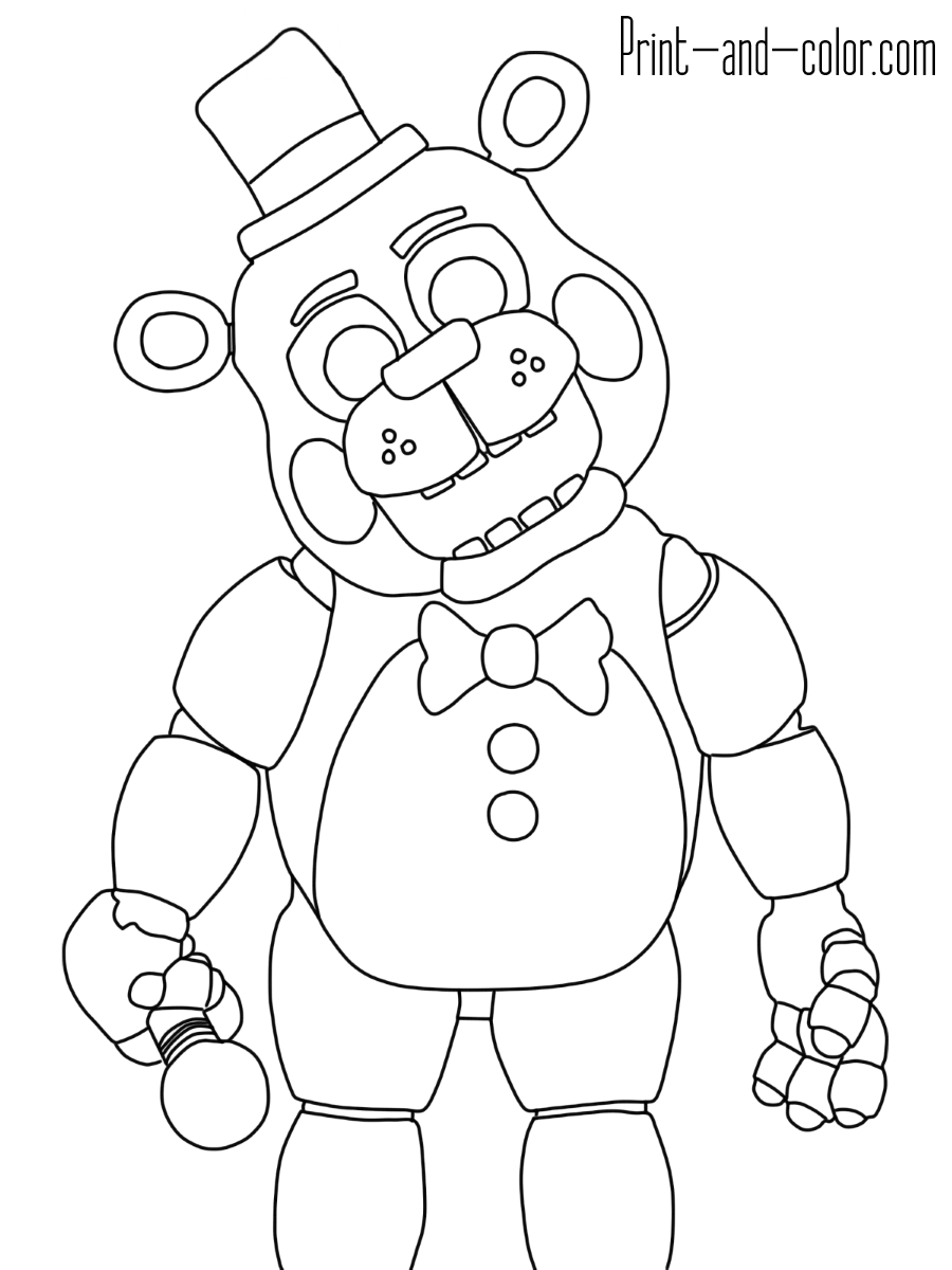 minecraft fnaf coloring pages five nights at freddys fnaf coloring pages color online coloring fnaf pages minecraft