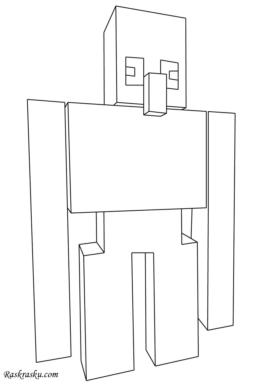 minecraft iron golem coloring pages minecraft golem coloring page 2019 open coloring pages iron pages golem coloring minecraft