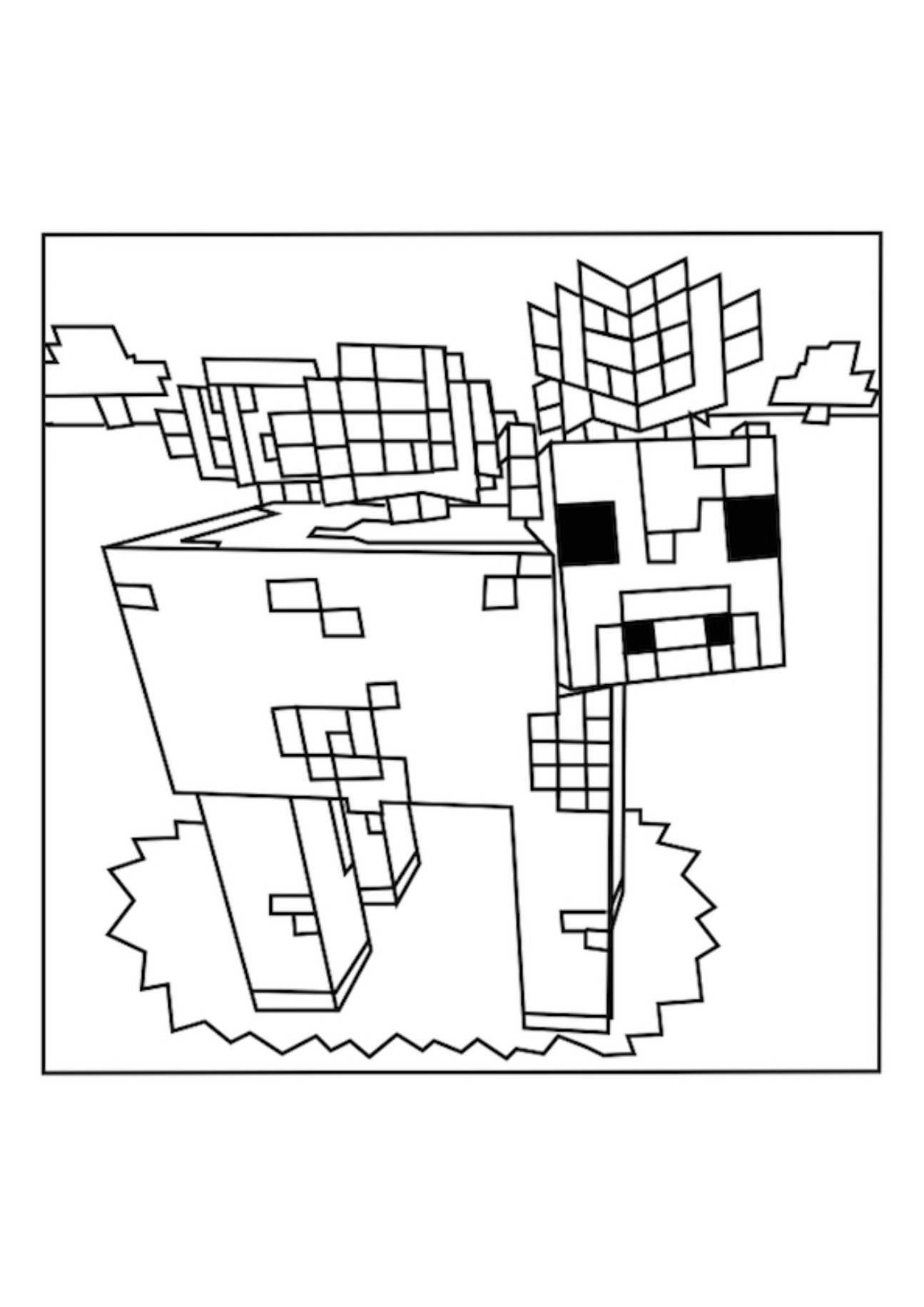 minecraft iron golem coloring pages minecraft iron golem coloring pages at getcoloringscom coloring iron golem minecraft pages