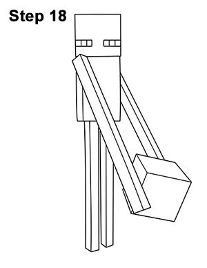 minecraft mutant enderman coloring pages minecraft coloring pages enderman at getdrawingscom enderman mutant coloring pages minecraft