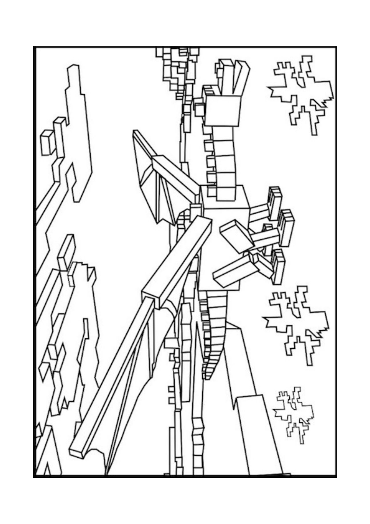 minecraft mutant enderman coloring pages minecraft coloring pages enderman crafts diy and ideas blog coloring enderman pages minecraft mutant