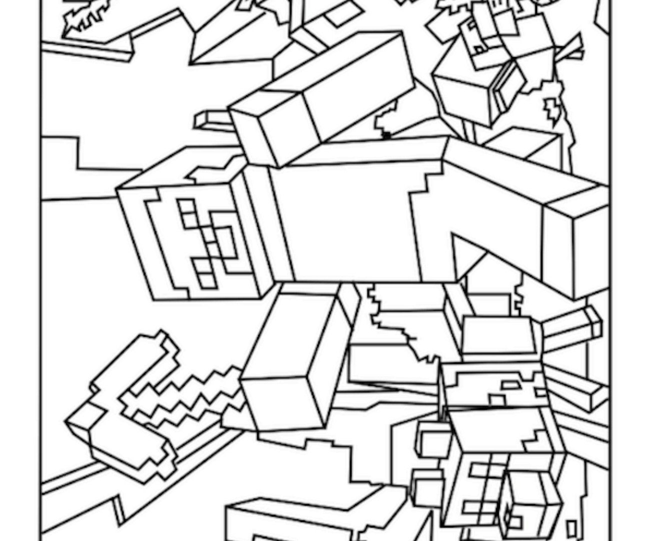 minecraft pages minecraft coloring pages best coloring pages for kids minecraft pages