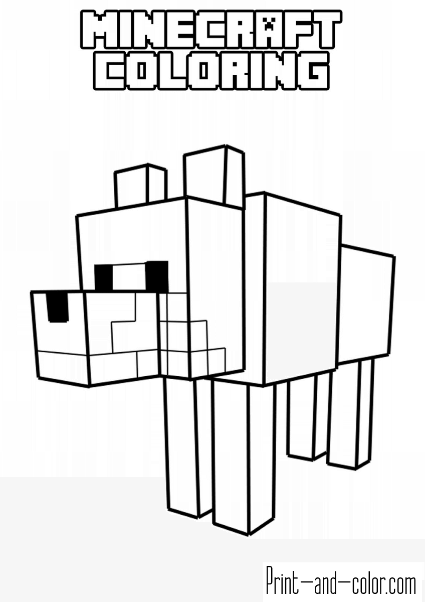 minecraft pages minecraft free to color for kids minecraft kids coloring pages minecraft
