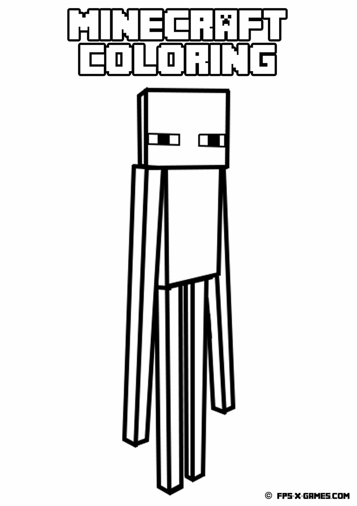 minecraft pages minecraft mobs a minecraft coloring page for kids minecraft pages