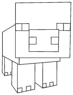 minecraft pig pictures how to draw pig from minecraft with easy step by step pig pictures minecraft