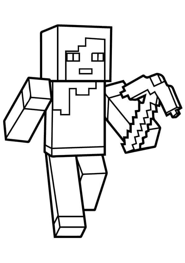 minecraft weapons coloring pages related keywords suggestions for minecraft axe pages weapons minecraft coloring