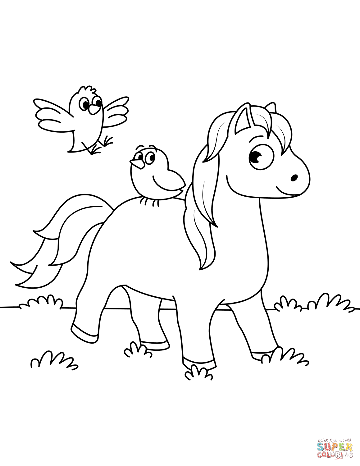 miniature horse coloring pages printable realistic horse coloring pages bubakidscom miniature coloring pages horse
