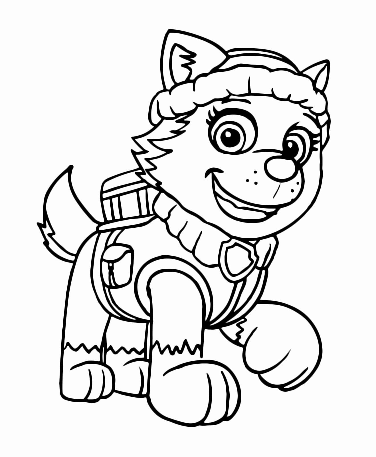mission paw coloring pages coloring pages printable paw patrol di 2020 buku pages paw coloring mission