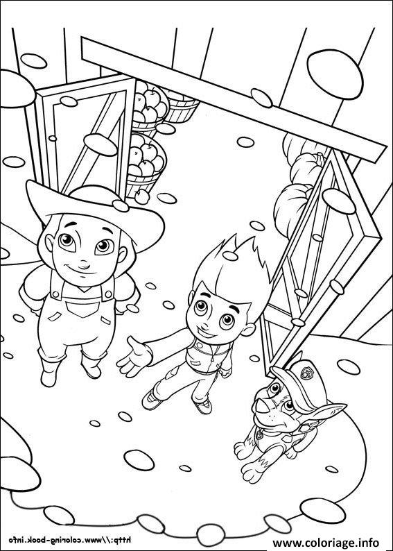 mission paw coloring pages pat patrouille mission a plie coloriage pat patrouille en mission pages paw coloring