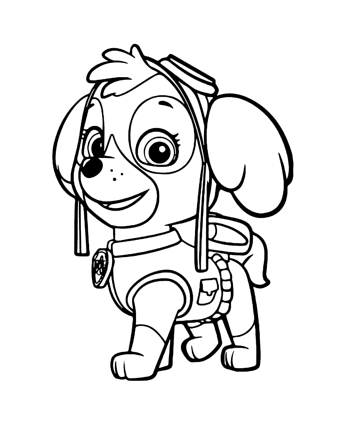 mission paw coloring pages paw patrol rubble runs to his mission pages paw mission coloring