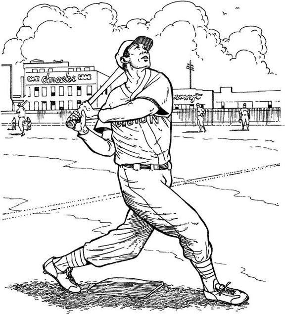 mlb coloring pages coloring pages baseball coloring pages free and printable coloring mlb pages