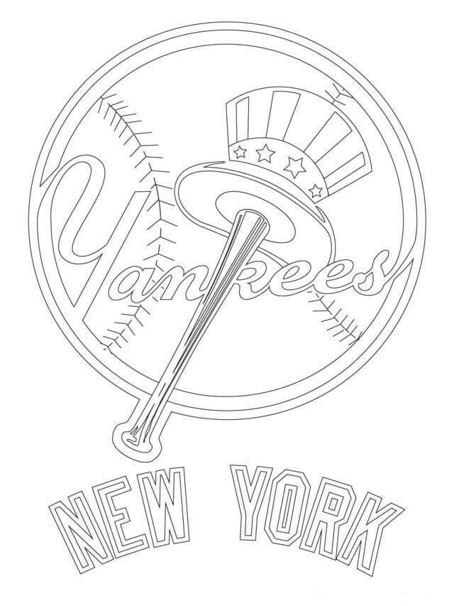 mlb teams coloring pages free printable major league baseball mlb coloring pages mlb coloring teams pages