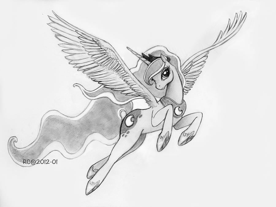 mlp how to draw luna mlp sketch relaxing luna by mychelle on deviantart how draw luna mlp to