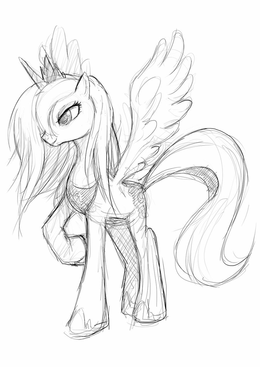 mlp how to draw luna princess luna drawing free download on clipartmag mlp how luna draw to