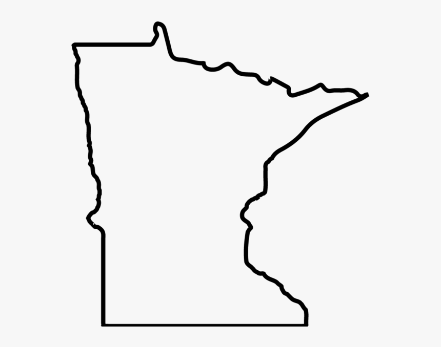 mn outline minnesota map silhouette free vector silhouettes mn outline