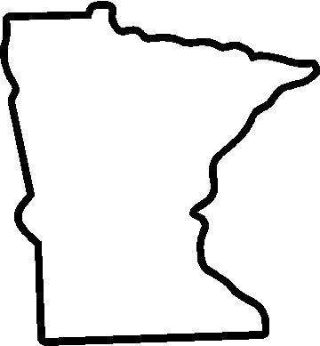 mn outline minnesota state outline map free download outline mn