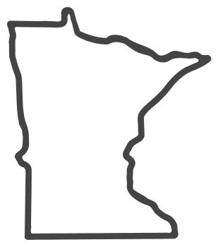 mn outline state and country decals minnesota decal sticker 02 outline mn