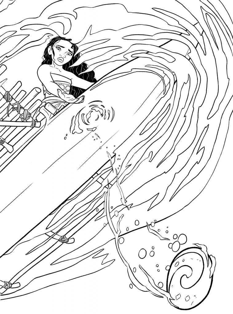moana boat coloring pages moana boat coloring pages unlike the other typical disney coloring boat moana pages