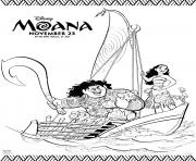 moana boat coloring pages moana in a boat coloring page free coloring pages online pages moana boat coloring