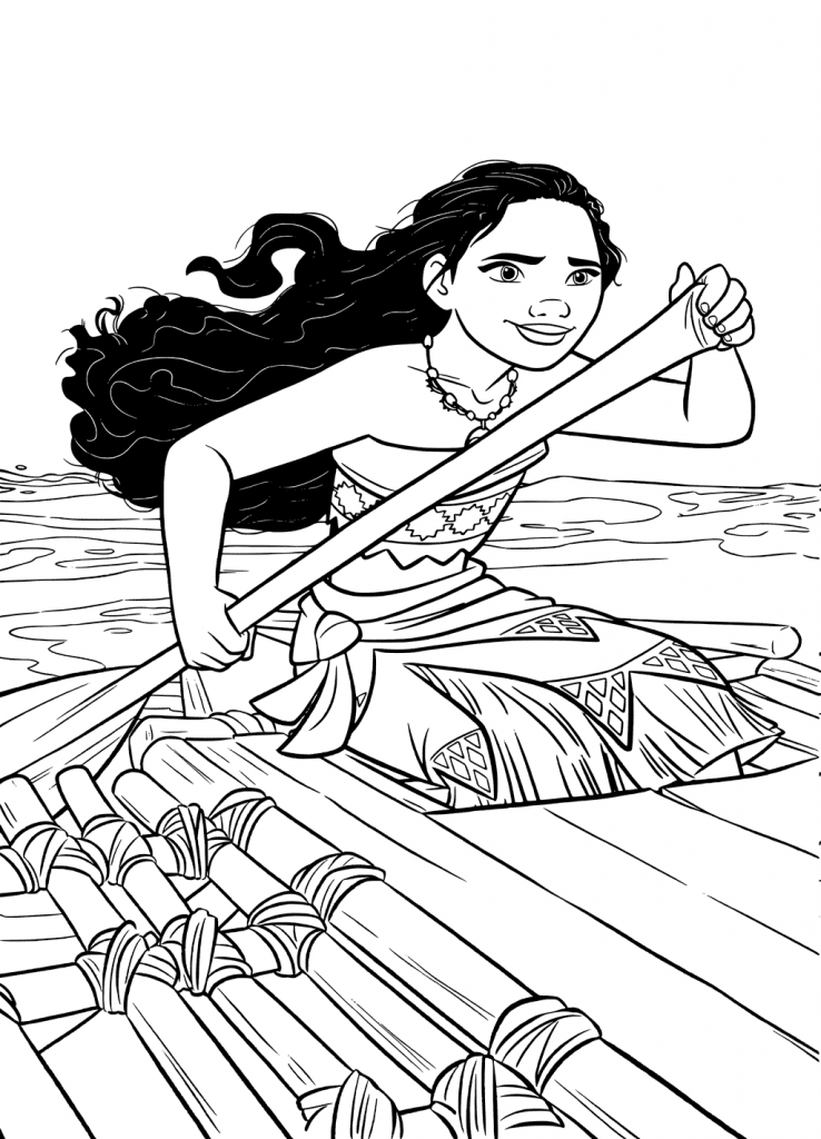 moana coloring pages 35 printable moana coloring pages coloring moana pages