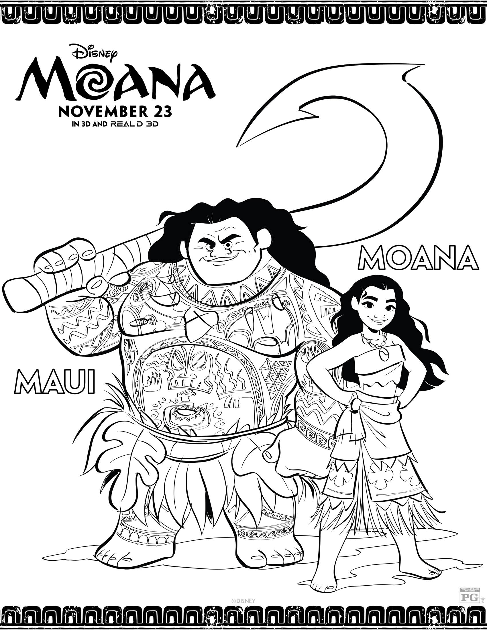 moana coloring pages printable free disney39s moana coloring pages and activity sheets printables printable coloring pages moana free