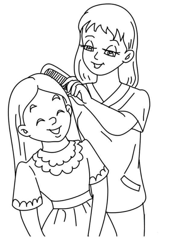 mommy coloring pages 30 free printable mothers day coloring pages pages coloring mommy