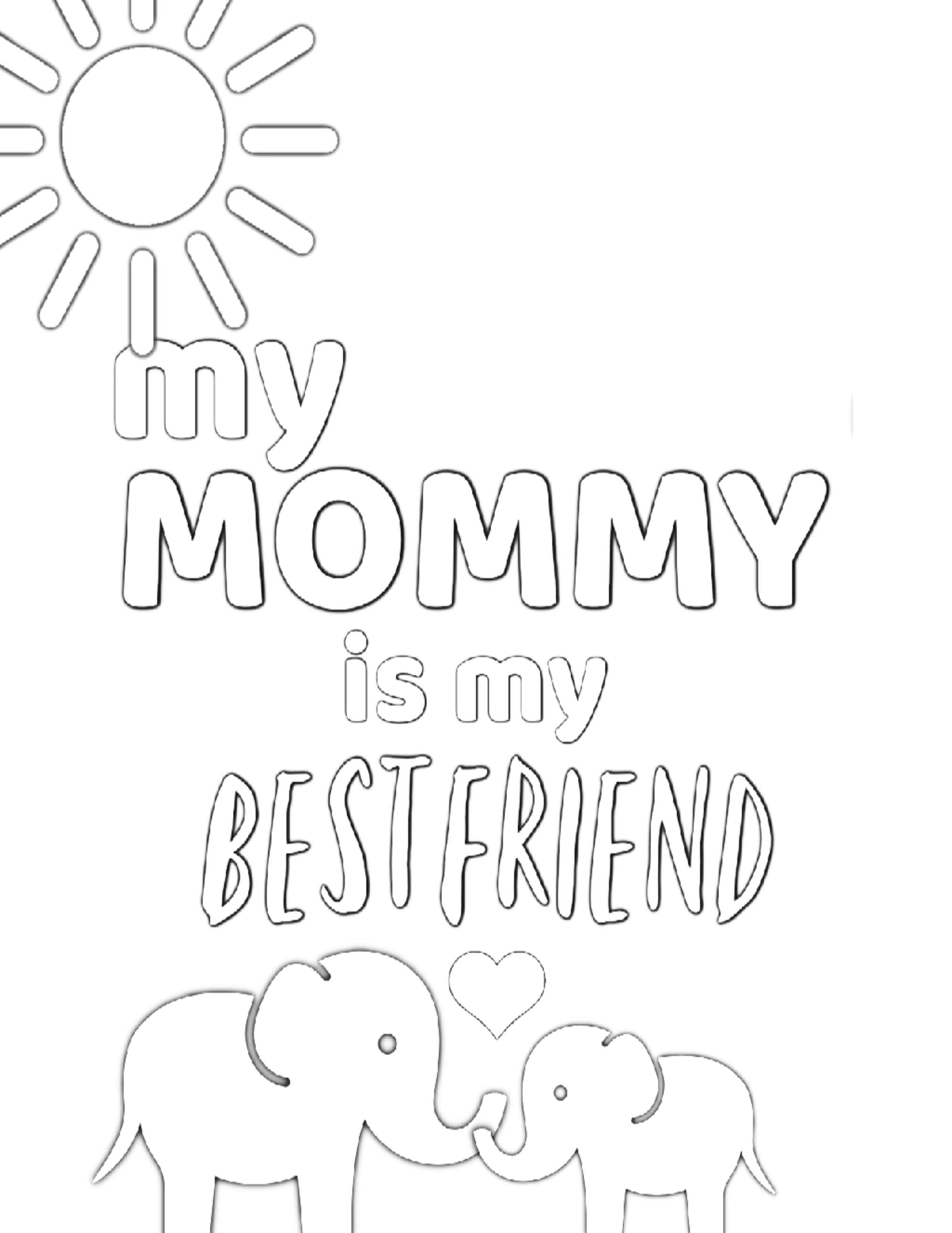 mommy coloring pages free printable mother39s day coloring pages for kids coloring mommy pages
