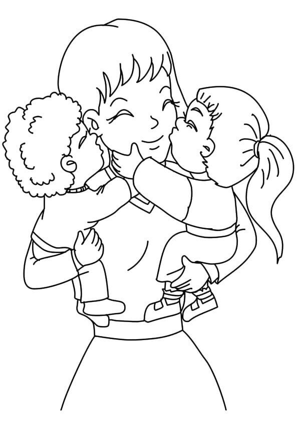 mommy coloring pages mother coloring page getcoloringpagescom mommy coloring pages