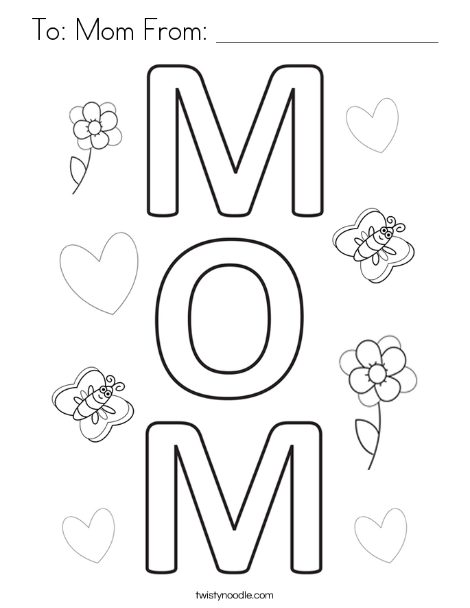 mommy coloring pages mothers day coloring pages 7 getcoloringpagesorg mommy pages coloring