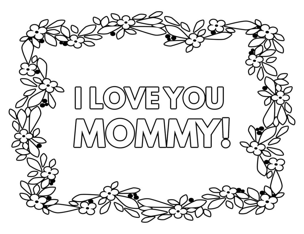 mommy coloring pages printable happy mother and daughter in the park coloring mommy pages coloring