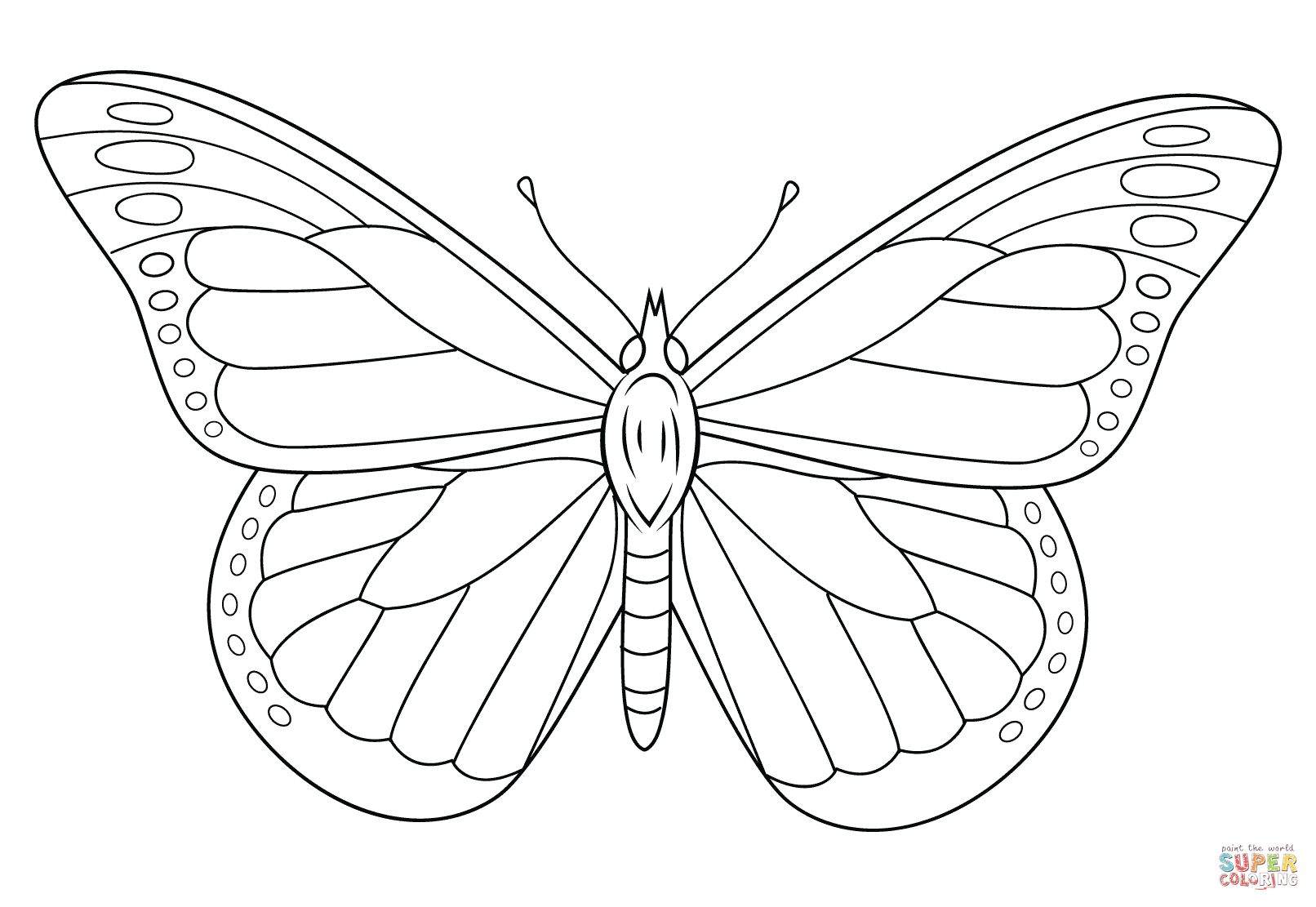 monarch butterfly coloring page monarch butterfly coloring pages to print free coloring butterfly coloring page monarch