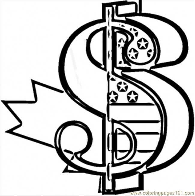 money sign coloring page dollar coloring page free usa coloring pages page sign coloring money