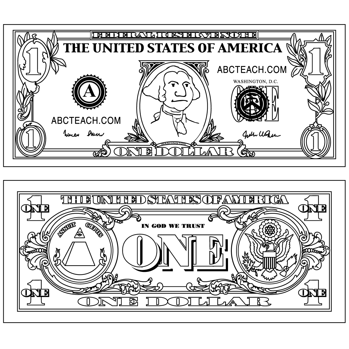 money sign coloring page money clipart black and white with images money coloring money page sign
