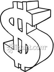 money sign coloring page star outline clipart images public domain pictures page 1 money sign coloring page