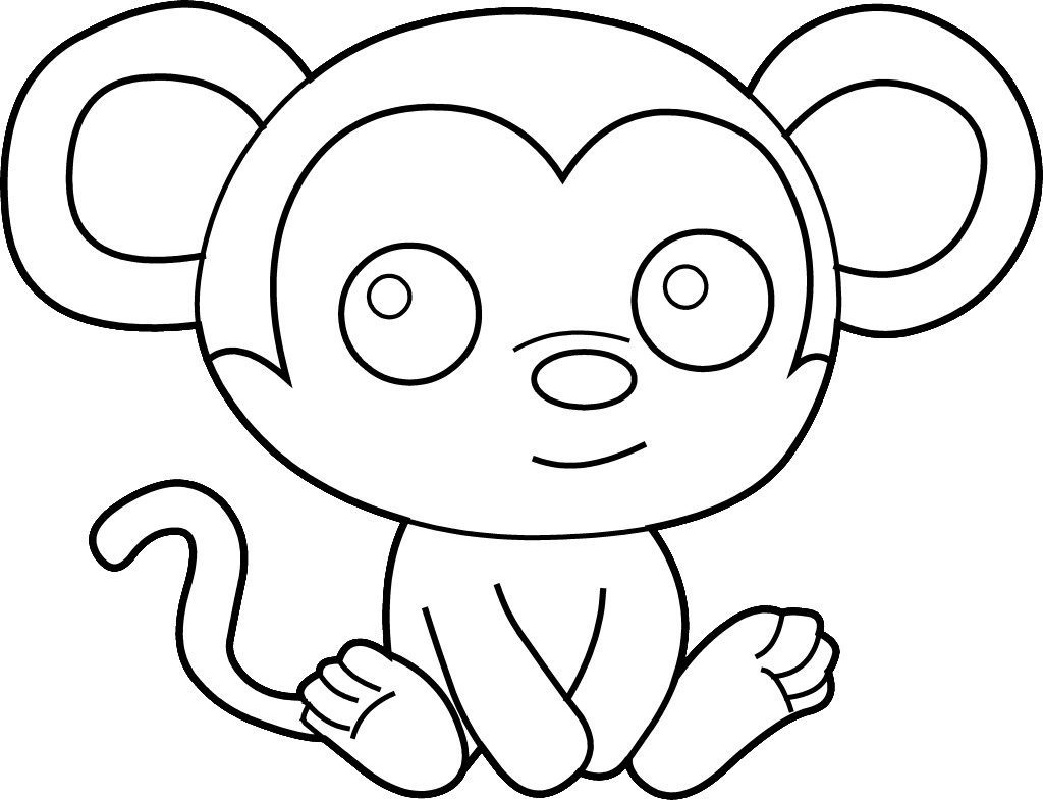 monkey coloring pictures monkeys to download monkeys kids coloring pages coloring monkey pictures