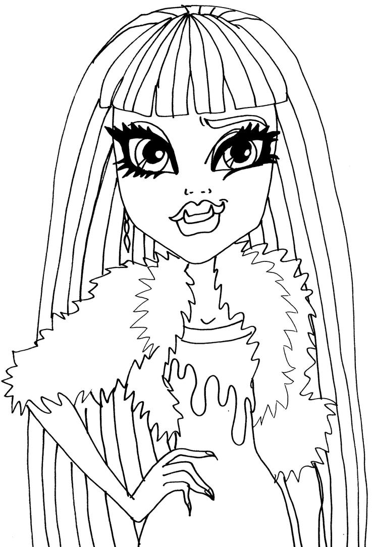 monster high abbey coloring pages abbey bominable coloring page free monster high coloring coloring monster pages abbey high