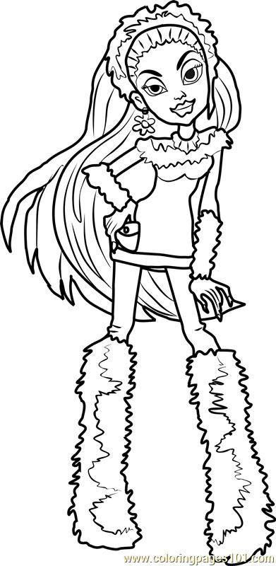 monster high abbey coloring pages abbey bominable coloring pages 1 coloring pages coloring abbey monster pages high