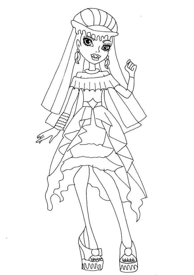 monster high abbey coloring pages monster high abbey coloring page free printable coloring pages high abbey monster coloring