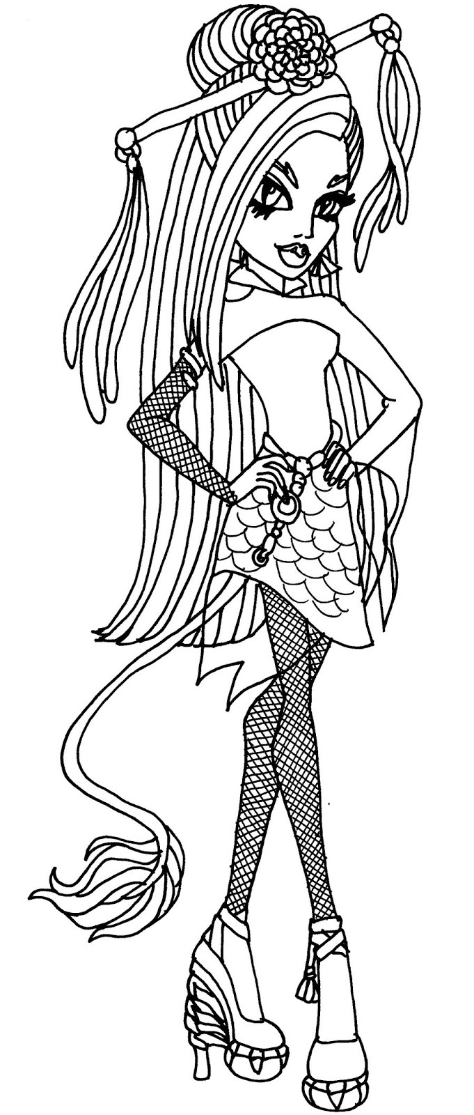 monster high black and white coloring pages dibujos y plantillas para imprimir dibujos de monster black white coloring monster pages and high